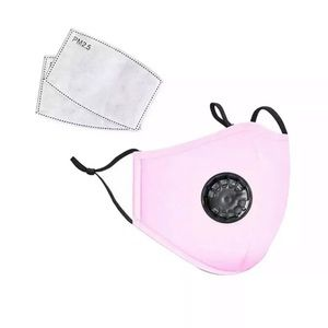 Accessories - Face cover Pink washable with 2 Filters